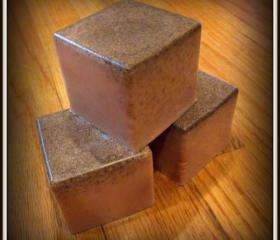 Dovemacob Addicted Lover Spellbound Handmade Soap Tobacco & Sugar Big Block Bars Artisan Soap Spelled For Intense Love