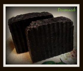 Dovemacob Attraction Spellbound Handmade Raw African Black Soap Aphrodisiac Pheromones Vegan All Natural